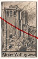 PostCard - Verlinghem - Kirche Eglise Church Kerk - Ca. 1915 - Lille