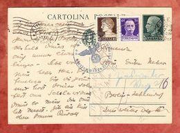 P 84 Koenig Viktor Emanuel + ZF, Firenze Nach Berlin, Zensur 1940 (54690) - 1900-44 Vittorio Emanuele III