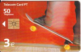 PORTUGAL(chip) - Skateboard, Tirage 90000, 06/02, Used - Portugal