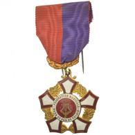 France, Fédération Musicale Du Nord-Pas-de-Calais, Médaille, Excellent - Militares