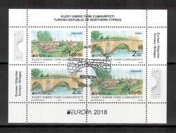 Türkisch-Zypern / Turkish Republic Of Northern Cyprus / Chypre Turc 2018 Block/souvenir Sheet EUROPA Gestempelt/used - 2018