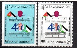 Serie Nº 1246/7  Jordania - Jordania