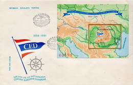 Romania SS On FDC - Ships