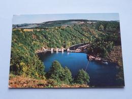 NISRAMONT-NADRIN Le Barrage De L'Ourthe ( Lander ) Anno 1978 ( Zie Foto Detail ) ! - La-Roche-en-Ardenne