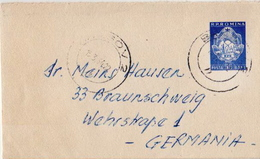 Postal History Cover: Romania Liliput Cover - Covers & Documents