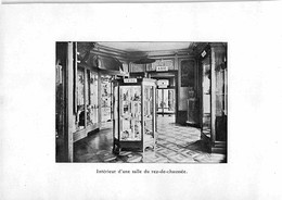 Musée D'éthnographie Neuchâtel ?  - Tirage D'imprimerie De L'époque ( Papier ~20 X 14 Cm) - Reproductions