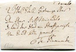 PAYS-BAS - Brief Nach Burmond 1794 - Von G. Poell Für Den Edelmann A. Michiels - Pays-Bas