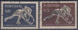 PORTUGAL 1952 Nº 762/63 USADO - 1910-... République