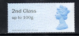 GB 2014 QE2 2nd Class Up To 100gms Post & Go Unused No Gum( K191 ) - Great Britain