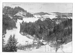 Usine éléctrique Dans Le Jura Neuchâtel ? Tirage D'imprimerie De L'époque -(papier ~15 X 11.5 Cm) - Reproductions