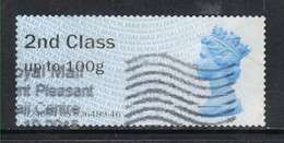 GB 2012 QE2 2nd Class Up To 100gms Post & Go ( R765 ) - Great Britain