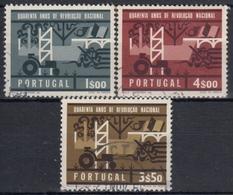 PORTUGAL 1966 Nº 984/86 USADO - 1910-... République