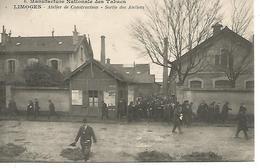 87    Limoges Manufacture Nationale Des Tabacs - Atelier De Construction - Sortie Des Ateliers - Limoges