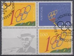 PORTUGAL 1994 Nº 1978/97 + 1979 USADO (EN BLOQUE) - 1910-... République