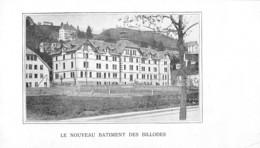 Le Nouveau Batiment Des Billodes - Le Locle - Tirage D'imprimerie De L'époque -(carton ~13.5 X 7.5 Cm) - Reproductions