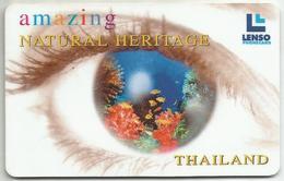 Thailand LENSO Card Underwater World Of The Andaman Sea 500 Baht - Tailandia