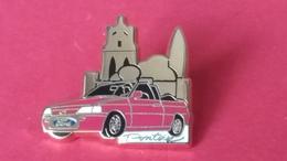 Pin's  FORD  Pontoise      ESCORT  CABRIOLET     Arthus Bertrand - Ford