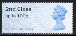 GB 2014 QE2 2nd Class Up To 100gms Post & Go Unused No Gum( A987 ) - Great Britain
