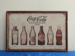 """Plaque Métal """"COCA COLA"""" - Coca-Cola"""
