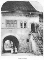 A Estavayer - Fribourg - Tirage D'imprimerie De L'époque - (papier ~13 X 10 Cm) - Reproductions