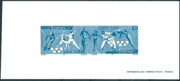 B1928 France Summer Olympic 2000 Sydney Sport Deluxe Sheet - Summer 2000: Sydney - Paralympic