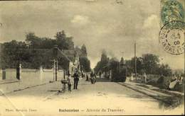 37 - ROCHECORBON - ARRIVEE DU TRAMWAY  / A 210 - Rochecorbon
