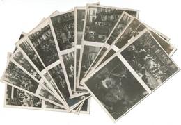 Série 12 Cartes Photos - CPA - Fêtes De L'Indépendance à Bruxelles - Voir Les Légendes Au Dos - 7 Scans - Feesten En Evenementen