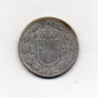 Italia - Regno - 1887 - 2 Lire - Umberto I° - Roma - Argento 835 - Vedi Foto - (MW1367) - 1861-1946 : Regno