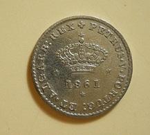 Portugal 50 Reis 1861 D. Pedro V Silver - Portugal