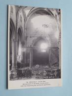 24-09-1944 Binnenzicht In De Kerk, Na De Brand Voor De Instorting Der Achterste Gewelven ( 36 ) Anno 19?? ( Zie Foto ) ! - Bocholt