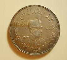 Iran 5000 Dinars 1928 Silver - Iran