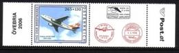 ÖSTERREICH MI-NR. 2606 ** TAG DER BRIEFMARKE 2006 AIRBUS A310-300 ZIERFELD RECHTS - 1945-.... 2ème République
