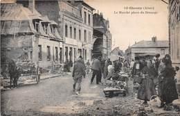CHAUNY - Le Marché Place Du Brouage - Chauny