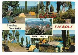 FIRENZE - FIESOLE - CAMPING PANORAMICO  VIAGGIATA FG - Firenze