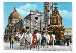 FIRENZE - FESTA DELLO SCOPPIO DEL CARRO - NV FG - Firenze