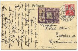 1955 - Pionierflug - Vorläufer LANGNAU Am 4. Mai 1913 Auf Offizieller Postkarte Mit Zudruck Flugtag Langnau I.E. - Luftpost