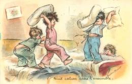 GERMAINE BOURET  NUIT CALME DANS L'ENSEMBLE   EDITION COMBIER - Bouret, Germaine