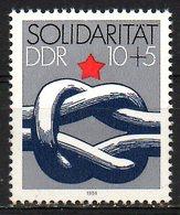RDA. N°2534 De 1984. Aide Au Tiers-Monde. - Contro La Fame