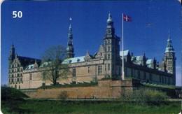 TARJETA TELEFONICA DE DINAMARCA. TDD067, Kronborg (066) - Dinamarca