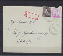 N°848A+1069P3 GESTEMPELD Dilsen OP VOORZIJDE VAN AANGETEKENDE OMSLAG SUPERBE - 1936-1951 Poortman