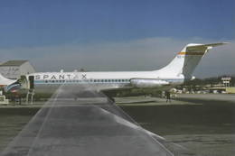 Spantax Air Douglas DC-9-14 ECCGZ - 1946-....: Era Moderna