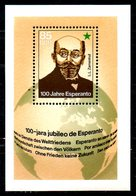 RDA. BF 86 De 1987. Zamenhof. - Esperanto
