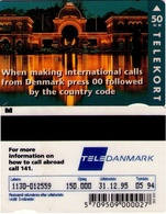 TARJETA TELEFONICA DE DINAMARCA. TDKR003, International Calls (089) - Dinamarca