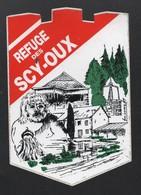 REFUGE DES SCY OUX / AUTOCOLLANT REF: 002 - Stickers