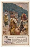 """Chromo Liebig """"l'algérie Pittoresque""""  Porteuses D'eau - Pubblicitari"""