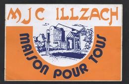 MJC ILLZACH MAISON POUR TOUS  / AUTOCOLLANT REF: 003 - Stickers