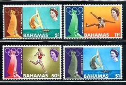 "Bahamas      ""Olympic Games Mexico 1968""   Set       SC# 276-79 MNH** - Bahamas (1973-...)"