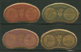 "Bahamas    ""Coins""    Set   SC# 284-87  MNH** - Bahamas (1973-...)"