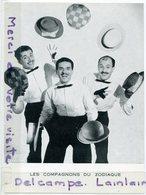 - Photo -  LES COMPAGNONS DU SODIAQUE - Groupe Vocal Ancien, A Leur Début, Cachet Au Verso, TBE Xcans.... - Famous People
