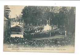 61/ ORNE... ARGENTAN. Inauguration Du Monument Aux Morts ( 21 Octobre 1923). L'Appel Des Morts - Argentan